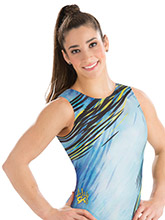 Aly Raisman Dashing Diva Leotard from GK Gymnastics