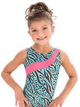 GKids Safari Splash Leotard from GK Gymnastics