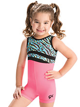 GKids Safari Splash Biketard from GK Gymnastics