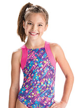 GKids Neon Starlite Leotard from GK Gymnastics