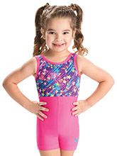 GKids Starlite Surprise Biketard from GK Gymnastics