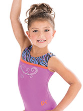 GKids Purple Frenzy Leotard from GK Gymnastics