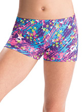 GKids Neon Starlite Shorts from GK Gymnastics