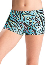 GKids Safari Splash Shorts from GK Gymnastics