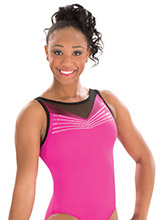 Ruby Royalty Gymnastics Leotard from GK Gymnastics