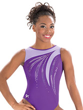 Purple Majesty Tank Leotard from GK Gymnastics