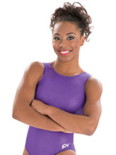 Violet Slither Workout Leotard from GK Gymnastics
