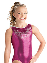 Bejeweled Beauty Tank Leotard from GK Gymnastics
