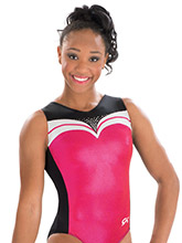 Stylish Sweetheart Tank Leotard from GK Gymnastics