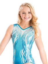 Nastia Liukin Seaglass Breeze Leotard from GK Gymnastics