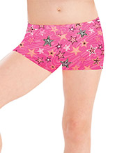GKids Pink Popstar Shorts from GK Gymnastics