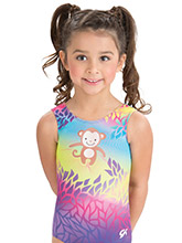 GKids Monkey Madness Leotard from GK Gymnastics