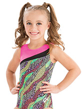 GKids Safari Wave Leotard from GK Gymnastics
