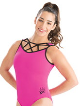 Aly Raisman Essential Strappy Leotard from GK Gymnastics