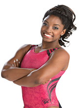 Simone Biles Desert Sunset Leotard from GK Gymnastics