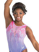 Simone Biles Power Princess Leotard from GK Gymnastics