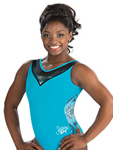 Simone Biles Atlantis Depths Leotard from GK Gymnastics