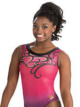 Simone Biles Mythical Muse Leotard from GK Gymnastics