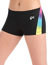Sporty Prism Workout Shorts from GK Gymnastics