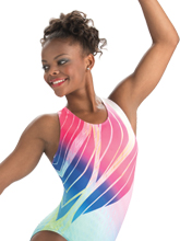 Free Bird Workout Leotard from GK Gymnastics