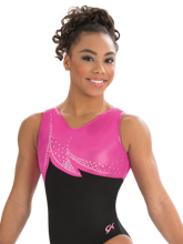 Berry Blast Tank Leotard from GK Gymnastics