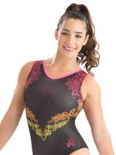 Aly Raisman Lovely in Lace Leotard from GK Gymnastics