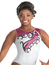 Simone Biles Aerial Vines Tank from GK Gymnastics
