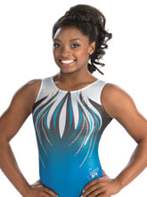 Simone Biles Reigning Champ Leotard from GK Gymnastics