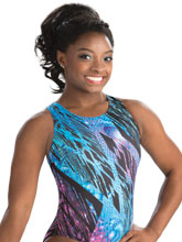 Simone Biles Star Gaze Leotard from GK Gymnastics