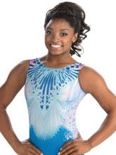 Simone Biles Modern Details Leotard from GK Gymnastics
