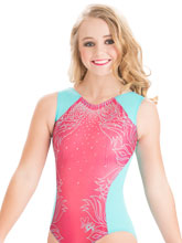 Nastia Liukin Aqua Dream Leotard from GK Gymnastics