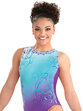 Laurie Hernandez Whirl of Wonder Leotard from GK Gymnastics