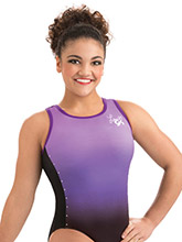 Laurie Hernandez Purple Rockstar Leotard from GK Gymnastics