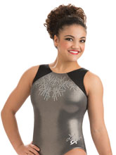 Laurie Hernandez Moonstone Sparkle Tank from GK Gymnastics