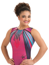 Laurie Hernandez Supernova Leotard from GK Gymnastics