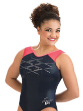 Laurie Hernandez Sheer Factor Leotard from GK Gymnastics