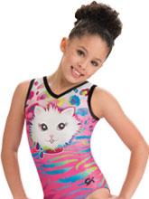 GKids Pretty Kitty Leotard from GK Gymnastics