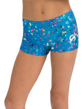 GKids Finger Paint Shorts from GK Gymnastics