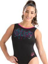 Aly Raisman Berry Bloom Leotard from GK Gymnastics