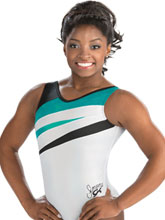 Simone Biles Power Strike Leotard from GK Gymnastics