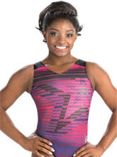 Simone Biles Star Powered Leotard from GK Gymnastics