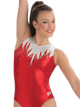Icicle Glitter Tank Leotard from GK Gymnastics