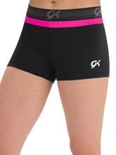 GK Elastic Workout Shorts from GK Gymnastics