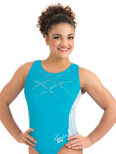 Laurie Hernandez Atlantic Chill Tank from GK Gymnastics