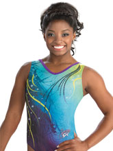 Simone Biles Starry Night Tank from GK Gymnastics