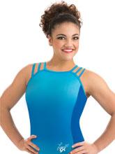 Laurie Hernandez Blue Rebellion Leotard from GK Gymnastics