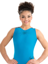 Laurie Hernandez Turquoise Granite Tank from GK Gymnastics