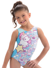 Fluffy The Unicorn Tank from GK Gymnastics