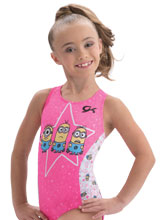 Star Minion Leotard from GK Gymnastics