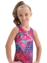 Perfect Poppy Tank from GK Gymnastics
